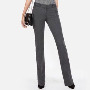 Express Editor Dark Gray Dress Pants. Size 00R.